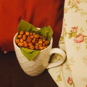 Knusper-Kichererbsen als Zero-Waste-Snack