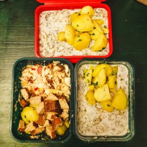 Meal-Prep, Zero Waste verpackt