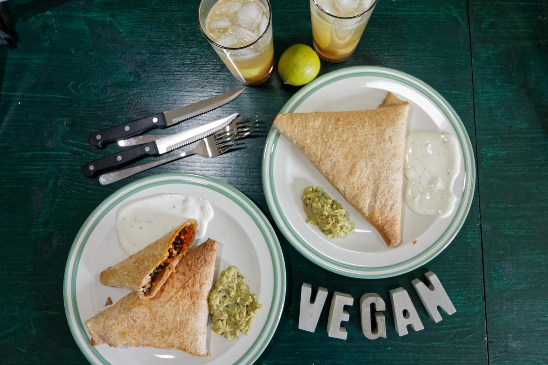 Vegane Wraps, die glücklich machen