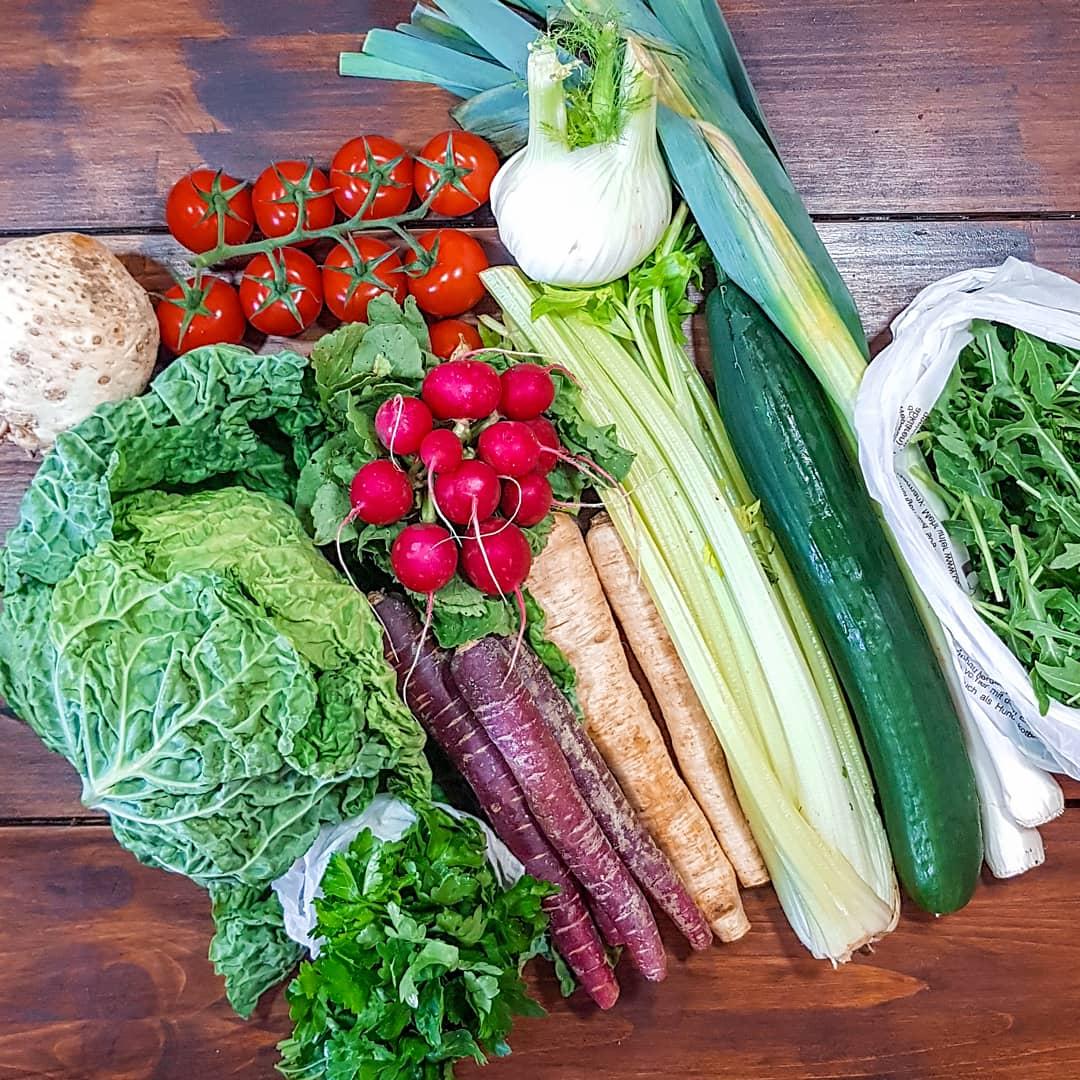 Saisonales Gemüse vom Markt