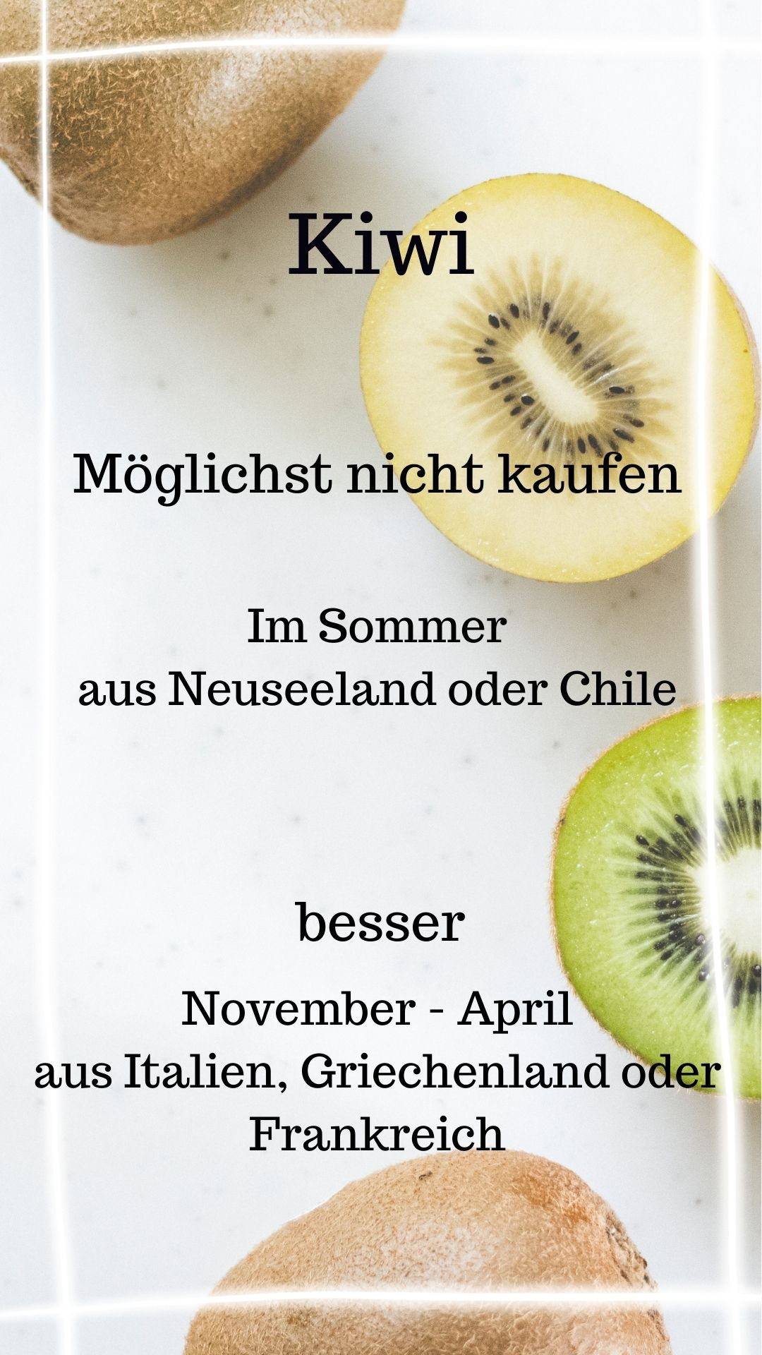 Saison Kiwi November-April